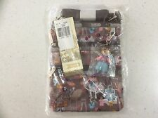 NWT Disney LeSportsac it's a Small World Moroccan Sun Kasey Bag w charm