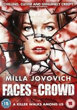 Faces in the Crowd DVD Milla Jovovich Julian New and Sealed Original UK R2