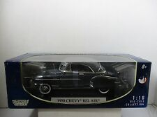 1/18 SCALE MOTORMAX GRAY 1950 CHEVY BEL AIR