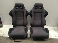 PEUGEOT 206 GTI 138 140 180 CC FRONT COBRA BUCKET SEATS VGC RECLINING SEATS