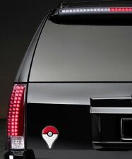 "Pokemon Go Plus Logo Brand New 5"" Car Magnet, Plus Free decal stickers"