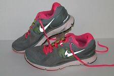 Nike Lunareclipse 2 + Running Shoes, #487974-007, Stealth/Pink/Volt, Womens 8