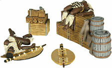 "BRITAINS SOLDIERS ZULU WARS ""ZULU TWILIGHT""biscuit box No2 3 PIECE SET WB20128 """