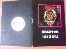 @@@@@ KREATOR - COMA OF SOULS  - booklet with lyrics
