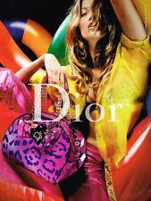 Publicité advertising 2004 Haute Couture sac à main Christian Dior Kate Moss