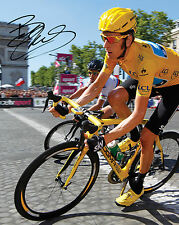 SIR BRADLEY WIGGINS - 10X8 PRE PRINTED LAB QUALITY PHOTO PRINT