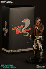 "Sideshow Snake Plissken 1/6 Scale Figure Escape From New York 12"" Kurt Russell"