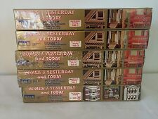 IHC Homes of Yesterday and Today HO Scale Lot of 5 No.1,3,4,5,14 all New in Box