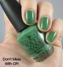 NEW! OPI NAIL POLISH Nail Lacquer in DON'T MESS WITH OPI ~ Green
