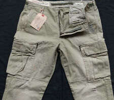 Ralph Lauren Tapered Cargo Pant Stripe Green Gr 34/34