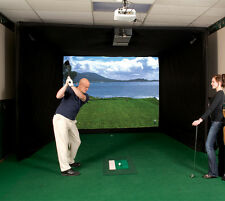 Par T Golf Simulator Used DE1100 Indoor Golf Simulator