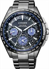 CITIZEN ATTESA Men's watch F900 Eco-drive Solar GPS Wave Correction CC9017-59L