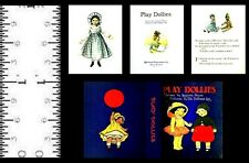 1:12 SCALE MINIATURE BOOK PLAY DOLLIES DOLLHOUSE SCALE