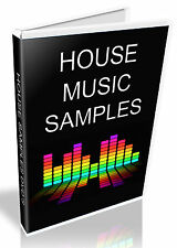 HOUSE MUSIC SAMPLES - WAV SOUND COLLECTION - ELECTRO, FUNKY + HOUSE  - WAV FILES