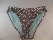 NWT Carve Designs Rodeo Reversible Bikini Bottom Size XS Walnut Dots/Coast Color