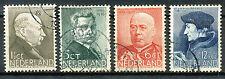 Nederland  283 - 286 gebruikt