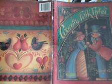 Country Folk Artist Painting Book-Jo Sonja Signed 1st Day-Alice Wonderland/Antiq