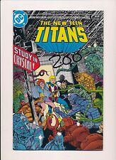 DC The NEW TEEN TITANS #10 1985  NEAR MINT (SRU668)