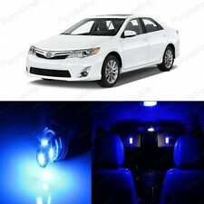 11 x Blue LED Interior Lights Package Kit For Toyota Camry 2012 - 2016