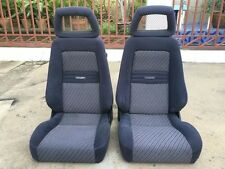 2 RARE GENUINE RECARO SEATS GOOD SHAPE FROM JAPAN FIT FOR UNIVERSAL AND JDM CAR