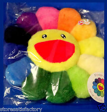 TAKASHI MURAKAMI Ohana Flower Cushion Rainbow Pillow (Smily/Sleey) Kaikai Kiki
