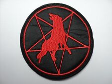 MARDUK  RED WOLF     EMBROIDERED PATCH