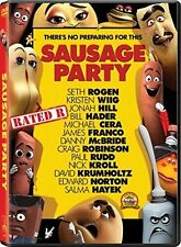 Sausage Party (2016, REGION 1 DVD New)