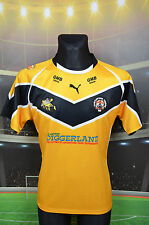 CASTLEFORD TIGERS PUMA RUGBY FOOTBALL LEAGUE SHIRT (XL 16) JERSEY TOP X BLADES