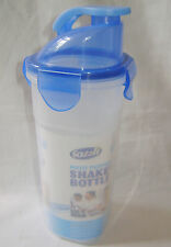 NEW SHAKER BOTTLE MIXING MESH FOR PROTEIN DRINKS SMOOTHIES BATTER EGGS BLUE