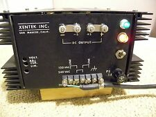 xentex high quality power supply 12-15 VDC high current 50 amps made in u.s.a