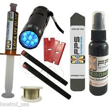 FLASHLIGHT UV + LOCA UV GLUE 5ml + OPENING TOOL + DEBONDER for Samsung Iphone