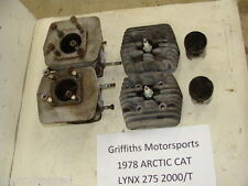 78 ARCTIC CAT lynx 275 2000/T 79 80 jag? CYLINDER SET CYLINDERS PISTONS HEADS
