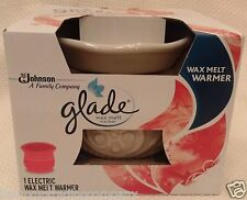 GLADE Wax Melt Warmer IVORY Off-White CREAM Color Ceramic Electric Tart Heater