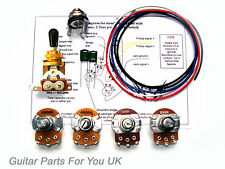 500k GOLD les paul wiring kit Full Size pots LP wiring kit upgrade 0.022uf caps