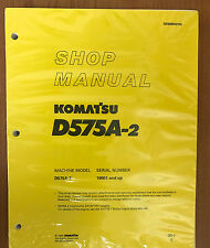 Komatsu D575A-2 Service Repair Workshop Printed Manual