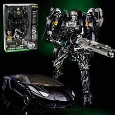 KBB Transformers Age Of Extinction Black Lockdown Metal Parts Figures With Box