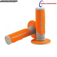 PRO GRIP HANDLEBAR GRIPS 801 ORANGE FOR KTM SXF250 SXF350 SXF450 2017
