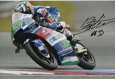 Enea Bastianini Hand Signed 12x8 Photo Gresini Honda Moto3 2016 MOTOGP 1.