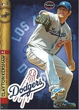 CLAYTON KERSHAW FATHEAD TRADEABLES LOS ANGELES DODGERS 2014 STICKER CY YOUNG #4