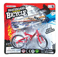 Tech Deck Finger Bike Bicycle+ Finger Board Boy Kid Children Wheel BMX Toy Gift