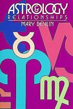 ASTROLOGY & RELATIONSHIPS -  by MARY DEVLIN -  PAPERBACK -  1988