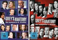 Grey's (Greys) Anatomy - Die komplette 6. + 7. Staffel  12 DVD Set  NEU OVP