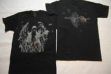 KATATONIA NIGHT IS THE NEW DAY T SHIRT SMALL NEW OFFICIAL DEAD END KINGS METAL