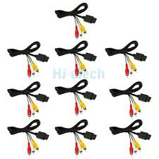 Lot100 6FT AV TV Video Audio Cable Cord to RCA for Nintendo Gamecube GC N64 SNES