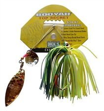 Booyah Hot Secret Hot Wire 3/16 oz Tandem Blade Spinnerbait - Foxy Lady