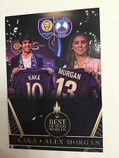 KAKA & ALEX MORGAN 2016 Custom Soccer Card Orlando City SC & Orlando Pride