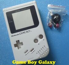 NEW Replacement SHELL + SCREEN Nintendo Game Boy Original DMG-01 kit USA ~ WHITE