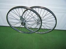 PAIR 26 x 1.75 STEEL BICYCLE WHEELS  HEAVY DUTY COASTER BRAKE REAR 36 12ga