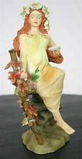 Alphonse Mucha Four Seasons AUTUMN MAIDEN Art Nouveau STATUE SCULPTURE FIGURINE