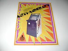 1975 Atari Anti Aircraft Arcade Game Original sales flyer brochure